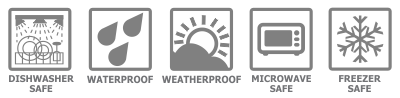 Feature Icons Waterproof Labels
