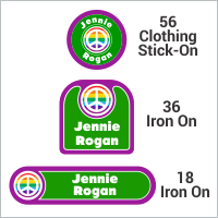 Nursing Home Labels - Stick-On & Iron On   IdentaMe Labels